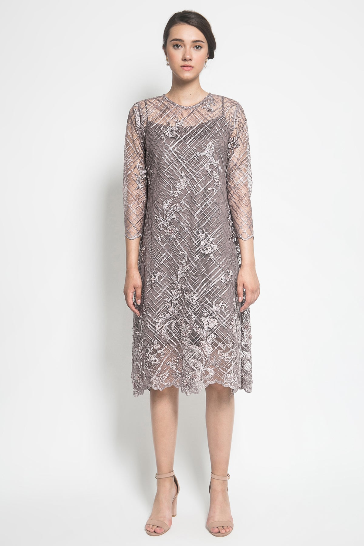 Adara Official Cathya Dress in Lavender
