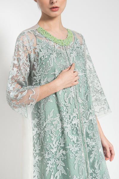Sheena Outer Dress in Mint