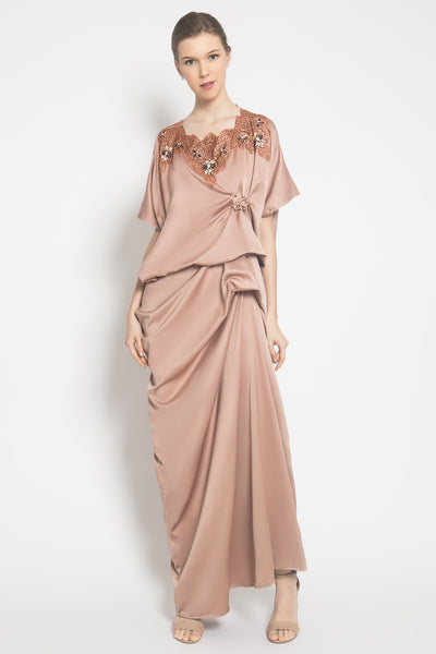 Alsy Kaftan in Brown