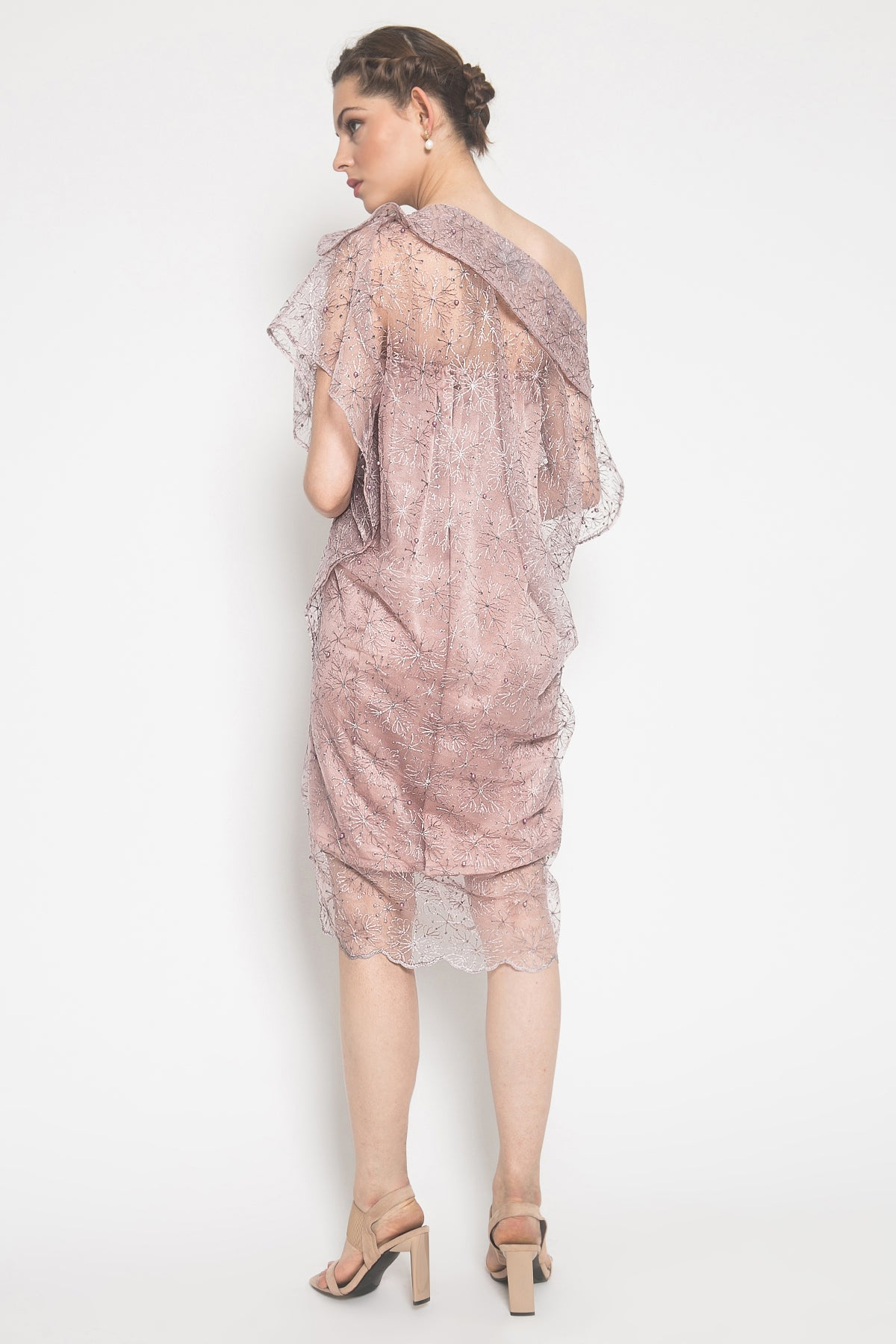 Kania Dress in Pink