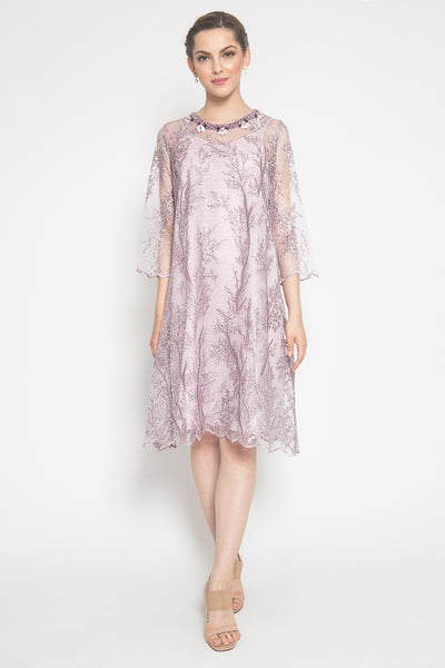 Sameera Dress in Dusty Pink