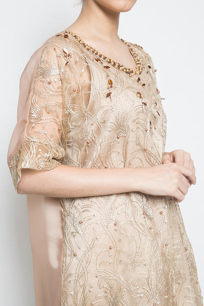 Aimee Khansa Dress in Gold