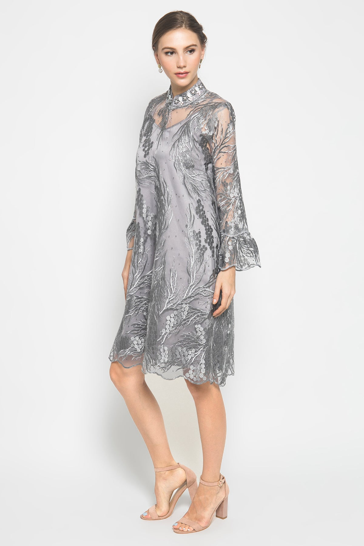 Fesya Grey Dress