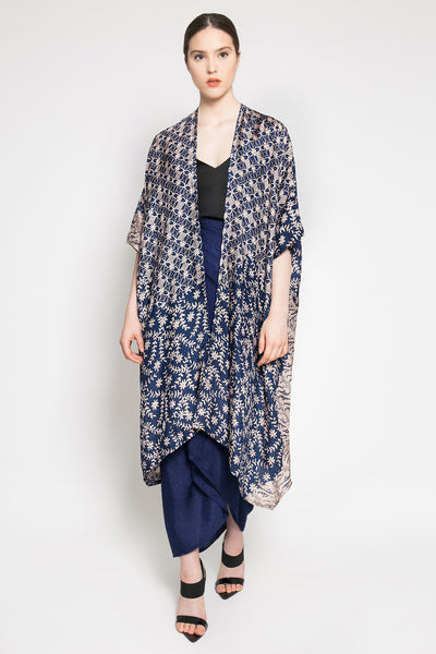 Delima Outer Set in Navy