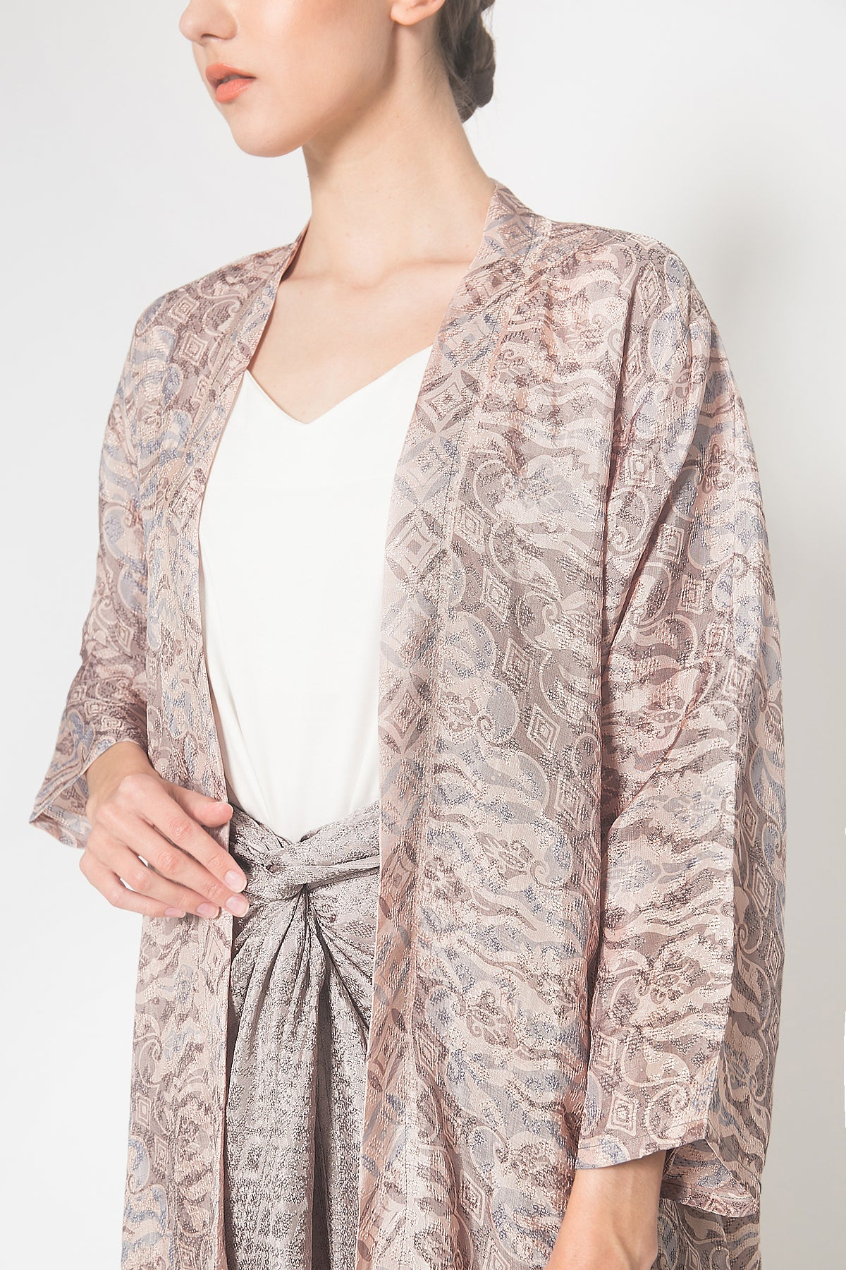 Meraki Outer Set in Dusk Grey