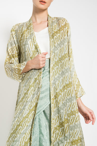 Meraki Outer Set in Lime Mint