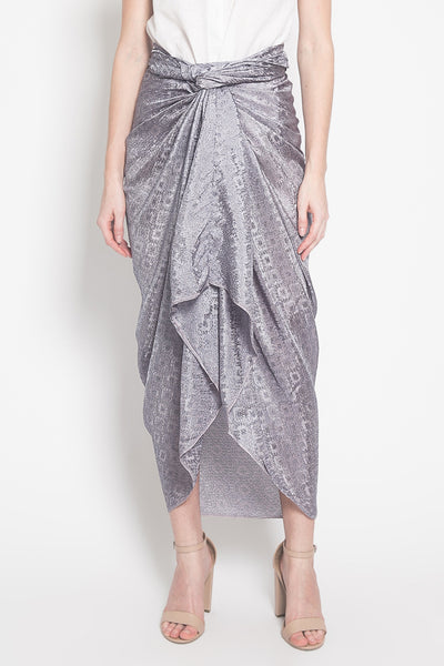 Azkia Skirt in Deep Grey