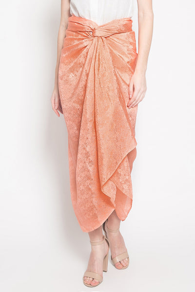 Azkia Skirt in Salmon