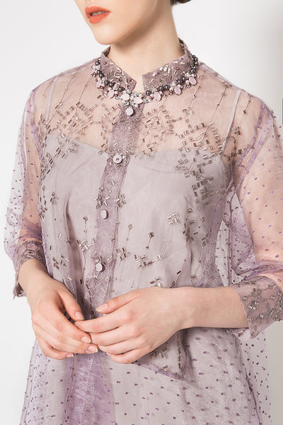 Orient Dress in Mocca Grape