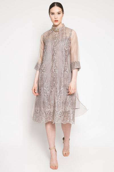 Jesse Dress in Muted Brown