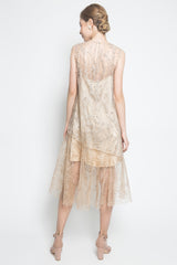 Atelier Mode Zuna Dress in Gold