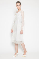 Kala Outer Dress in White