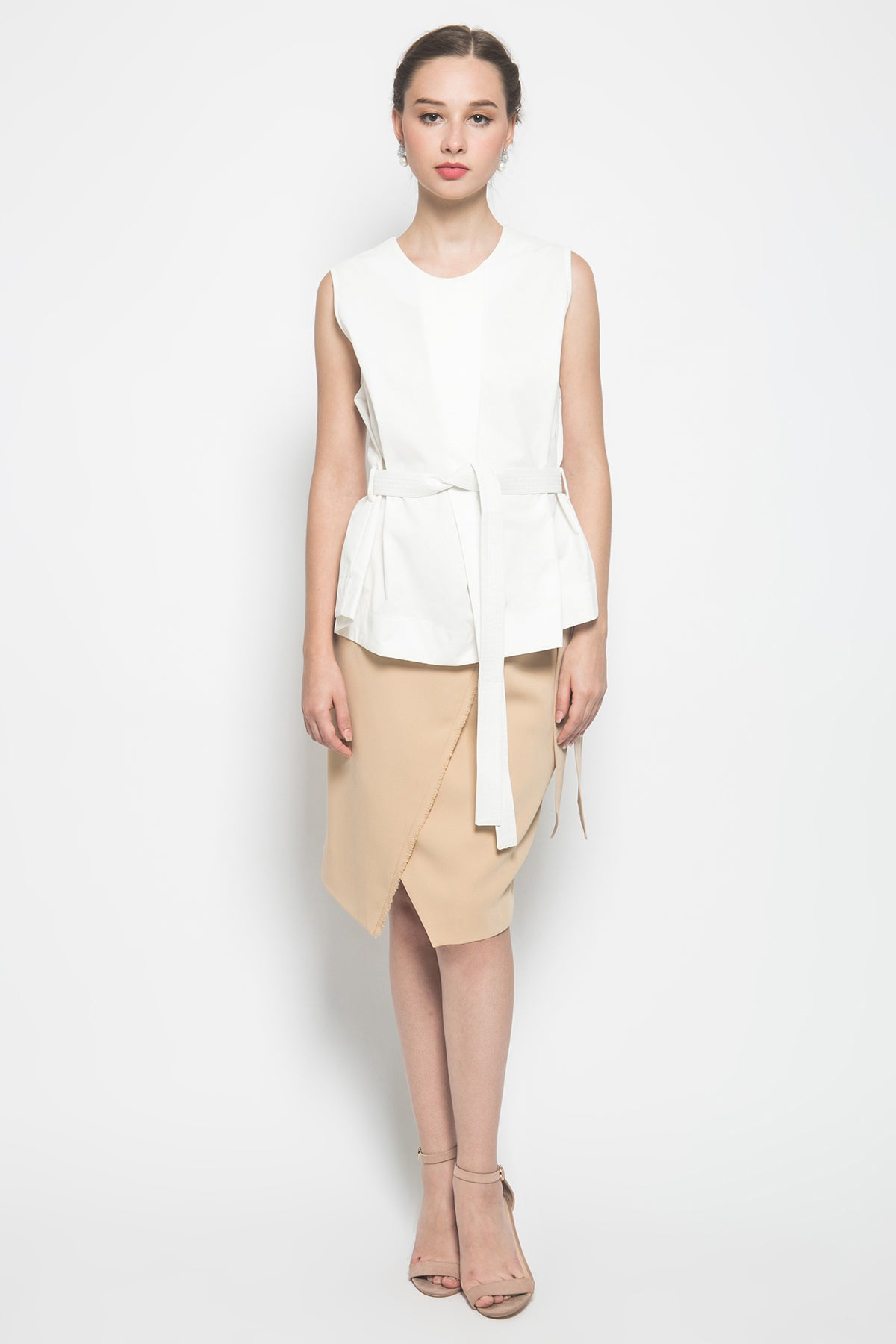 Bypozo Nea Top in White