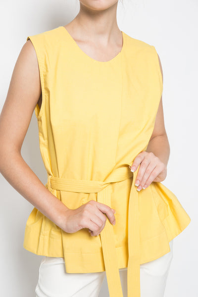 Bypozo Nea Top in Yellow