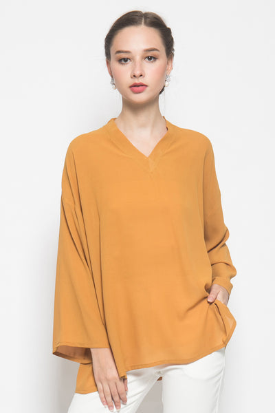 Ula Top in Camel