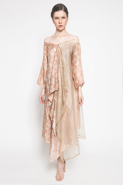 Sajak Aku Dress in Mocca