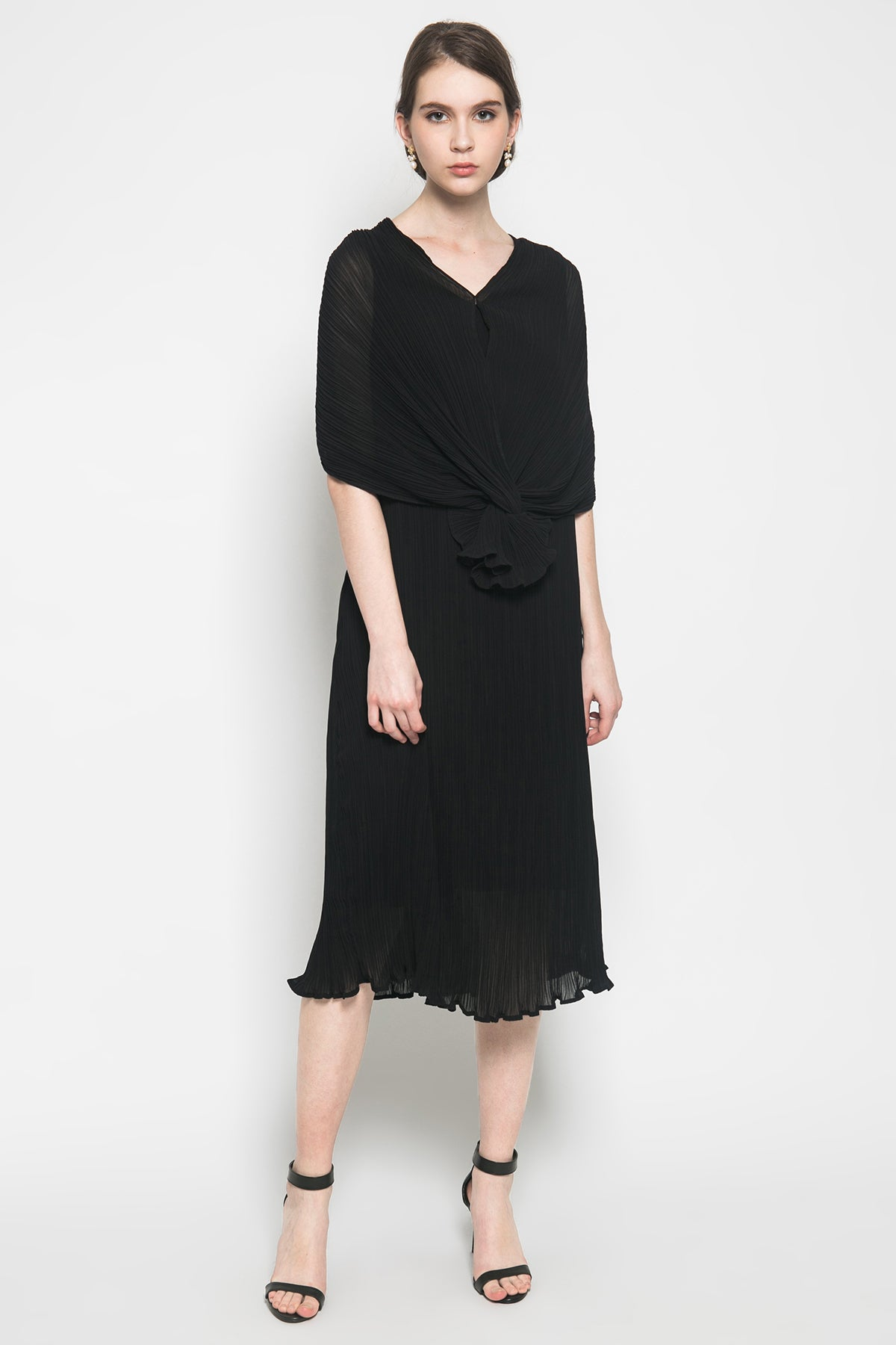 Paloma Pleats Dress