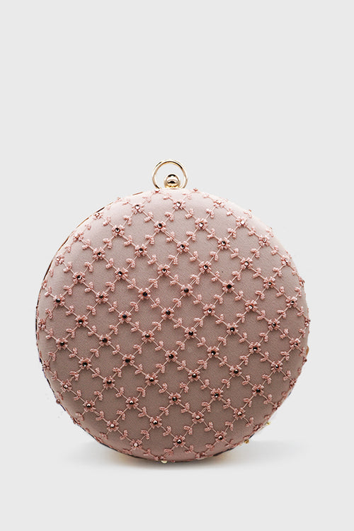 Rosie Clutch in Pink
