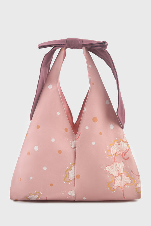 Ginkgo Ribbon Bag