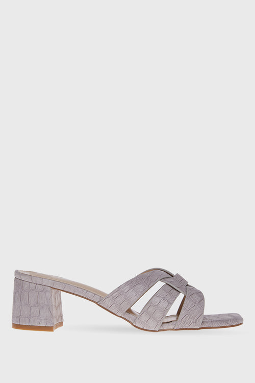 Georgina Heels in Grey