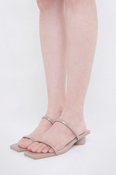 Ludovica Shoes in Taupe