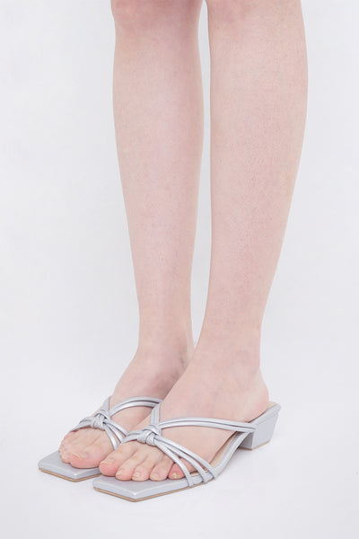Giulia Shoes in Silver