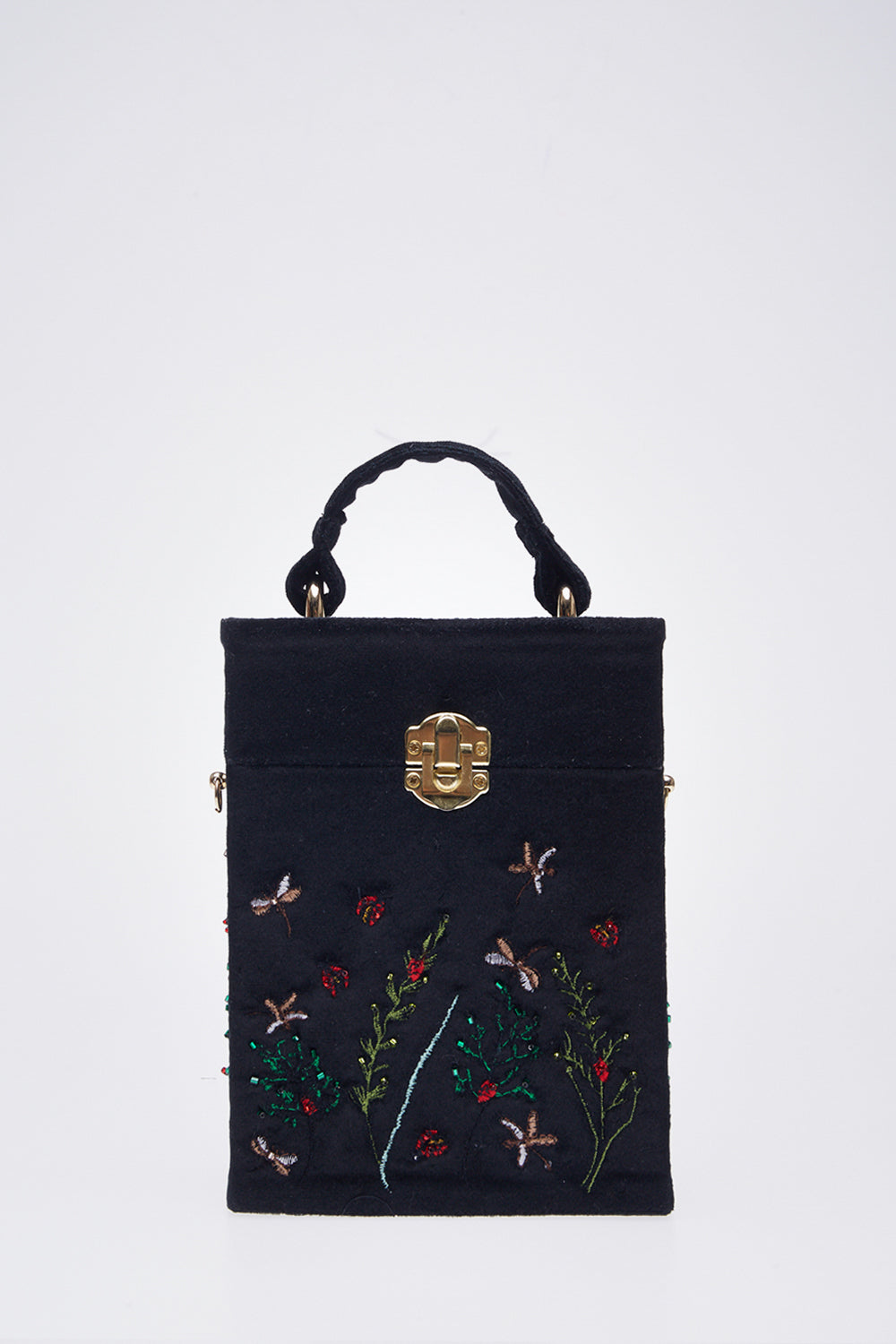 Ladybug Bag in Black