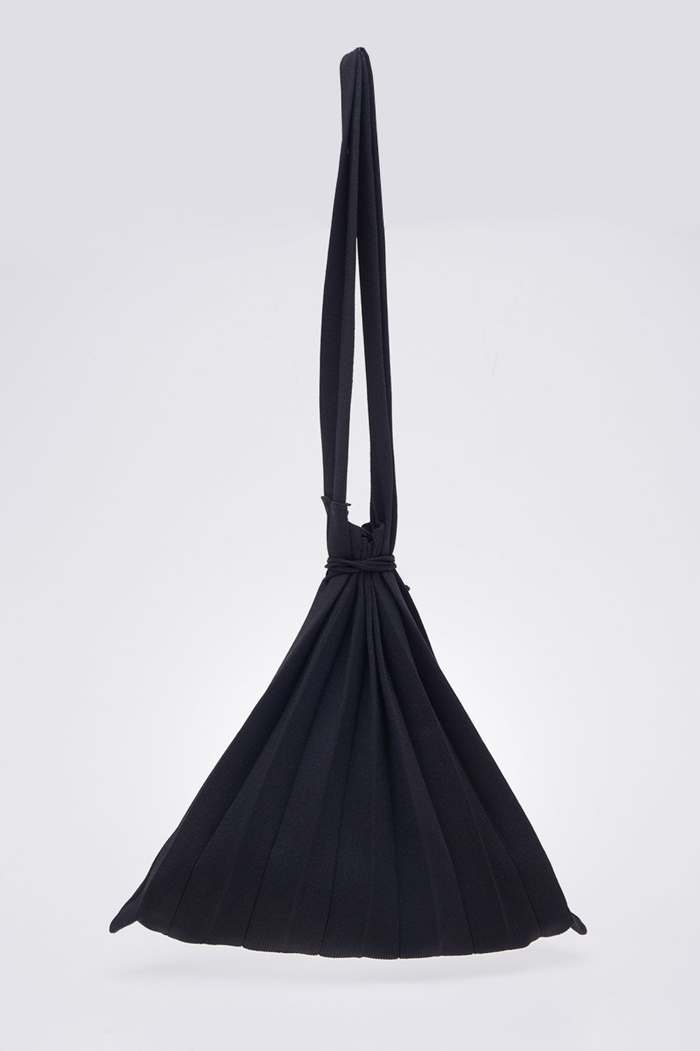 Plise Bag in Black