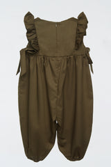 Boho Jumpsuit in Olive