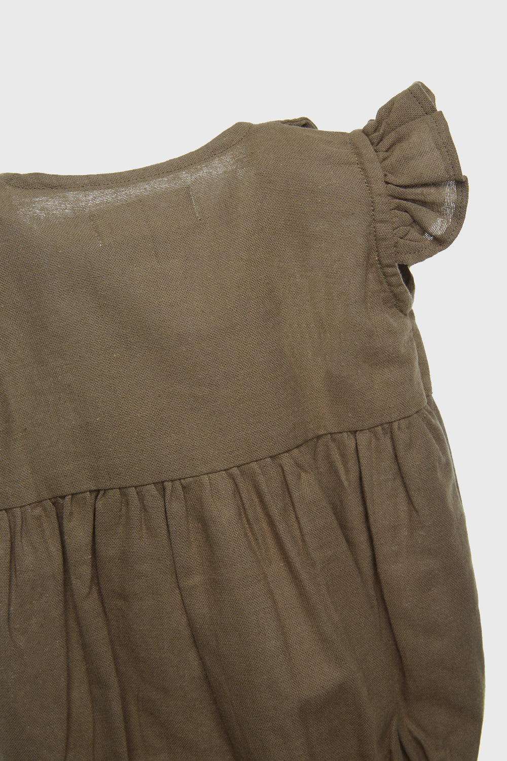 Jolly Romper in Olive