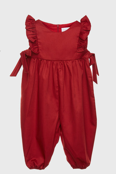 Boho Jumpsuit in Red