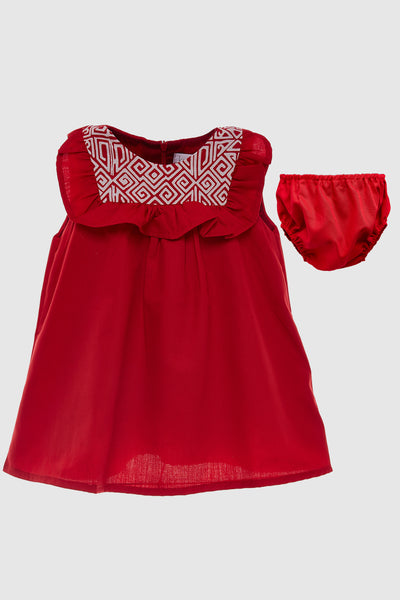 Apik Dress in Red