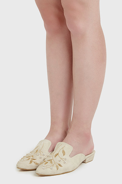 Raguel Shoes in Beige