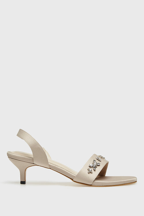 Michelle Shoes in Beige