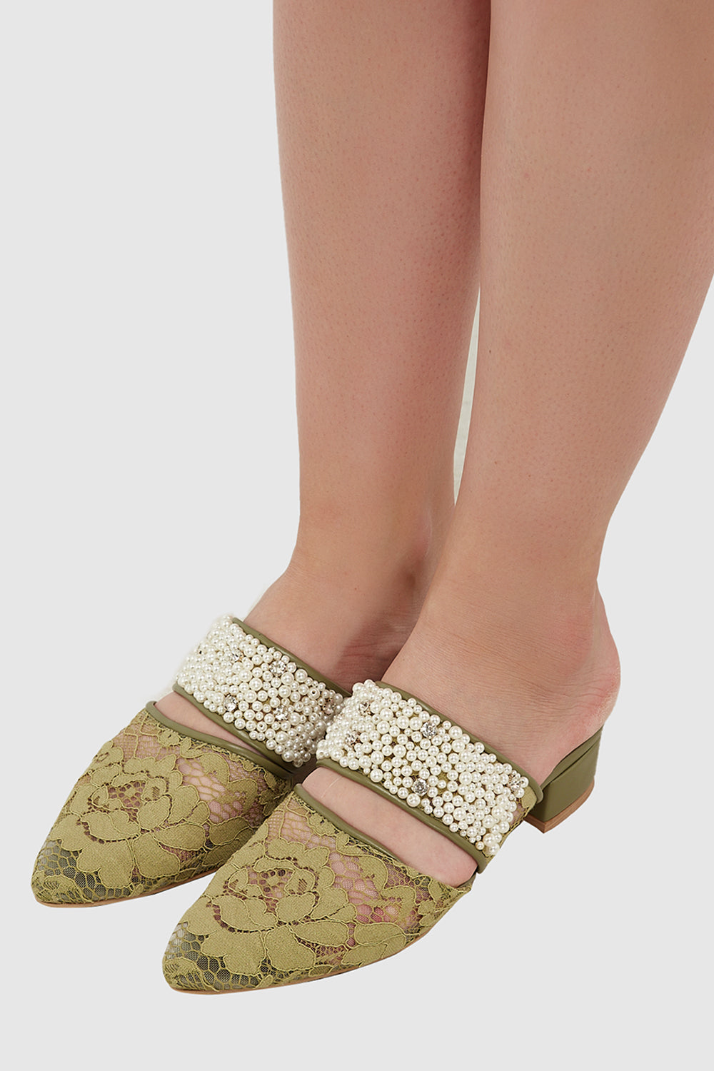 Eve Shoes in Green