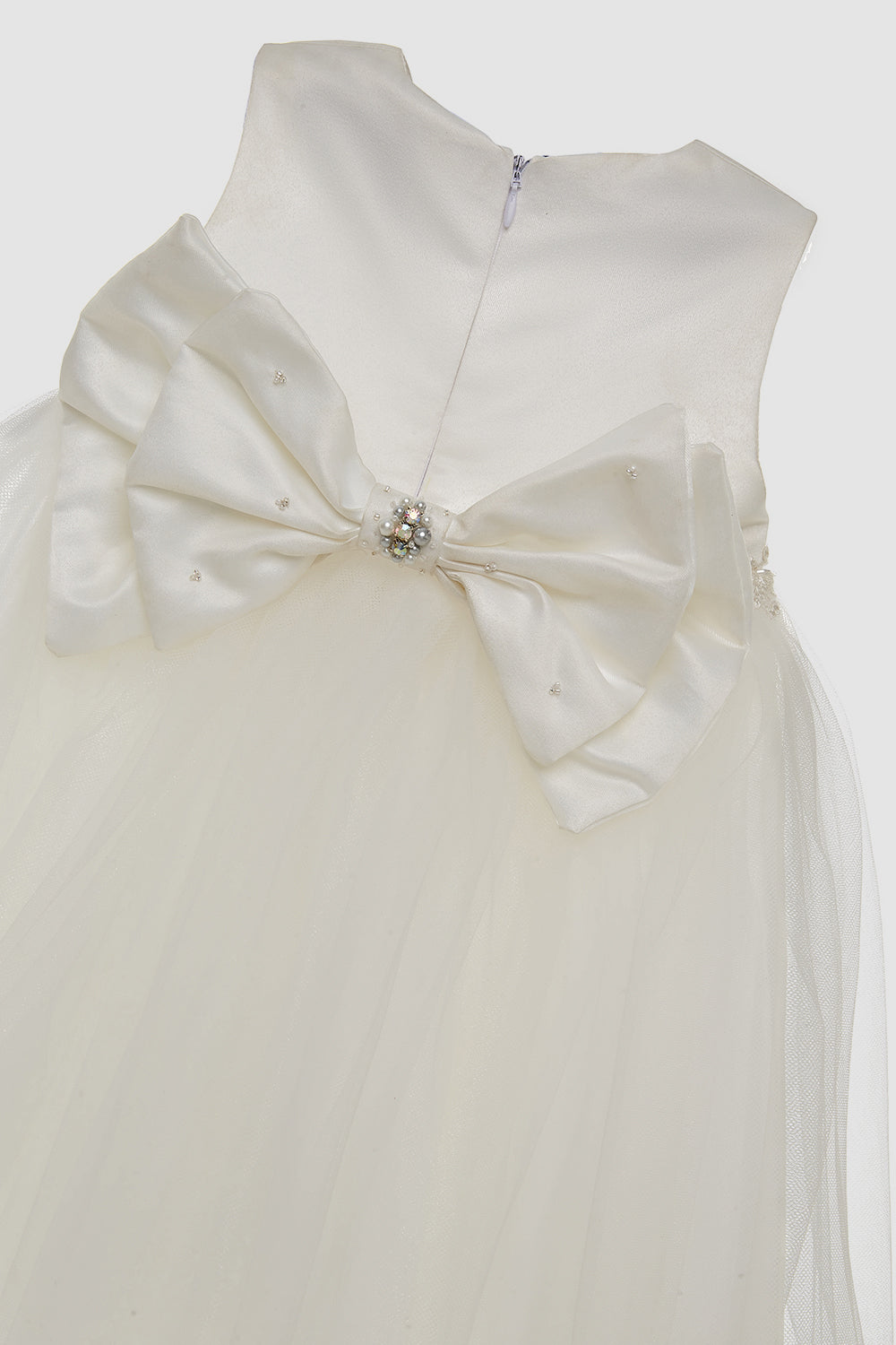 Baby M Refined Mila Dress in White