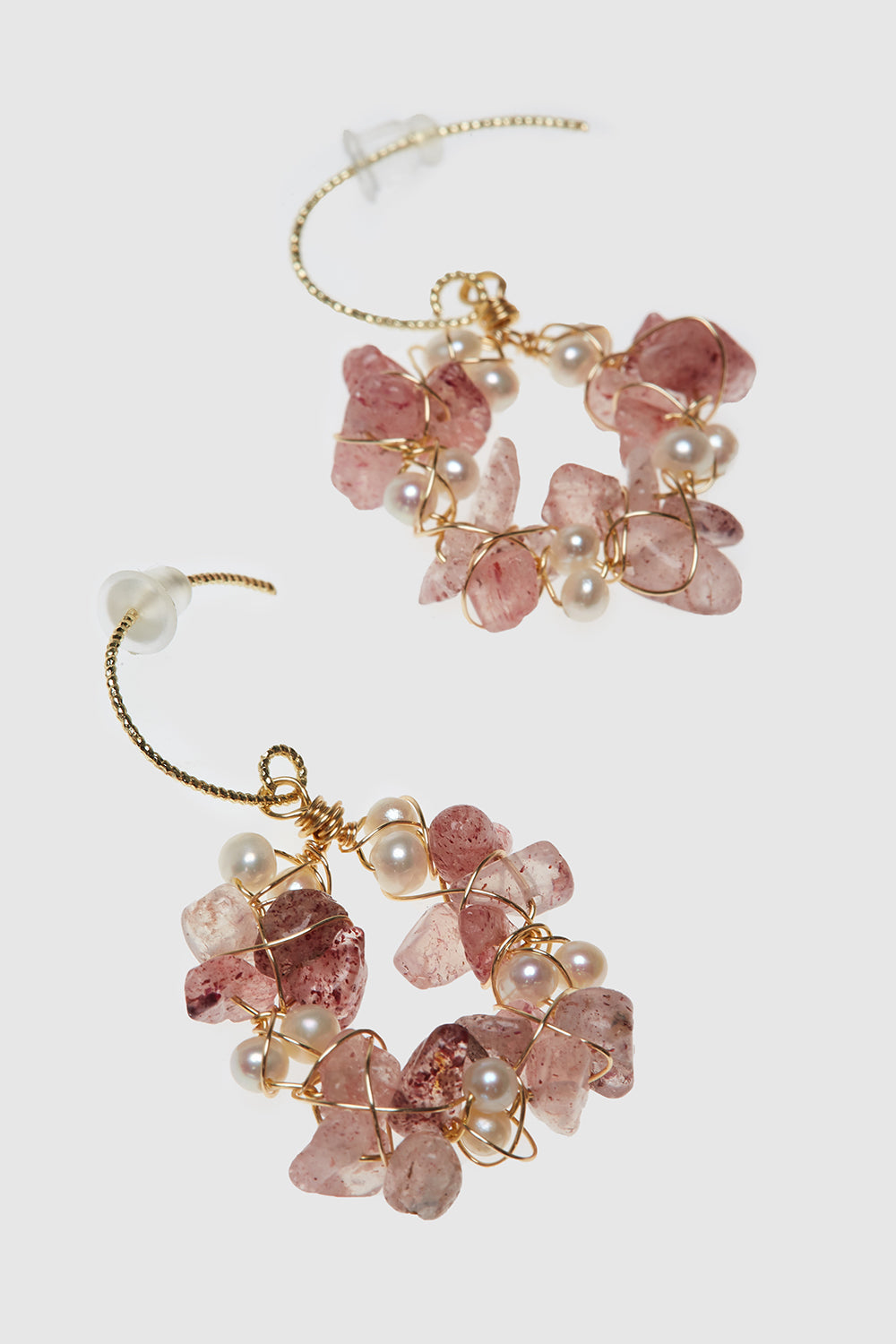 Rose Thift Earrings