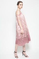 Dandelion Dress in Dusty Pink
