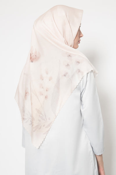 Nadine Scarf in Peach