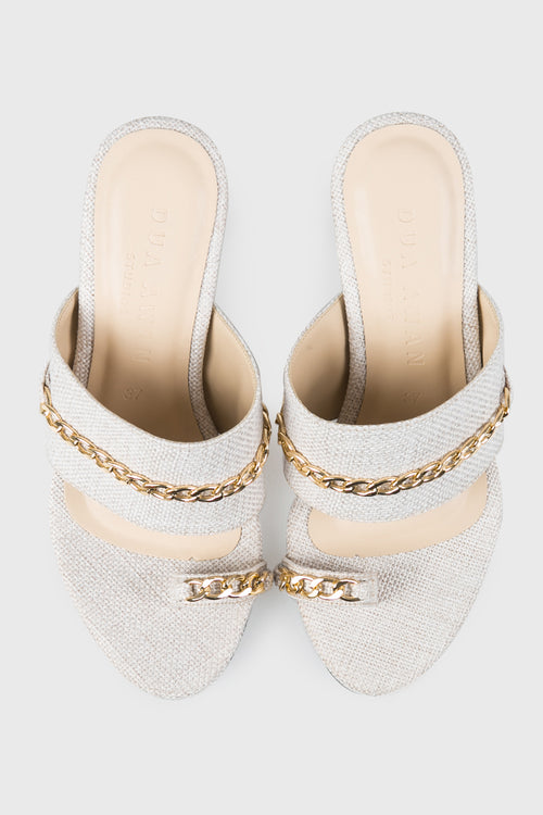 True Heels in Cream