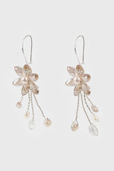 Fareeda Earrings in Nude