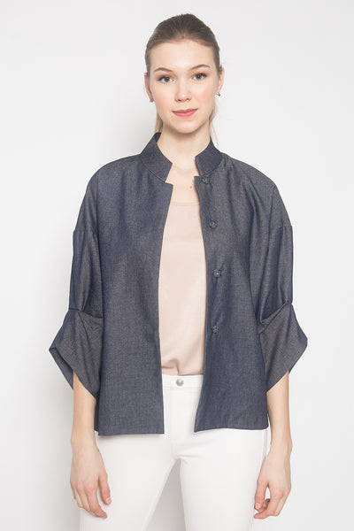 Dumi Jacket in Denim Blue