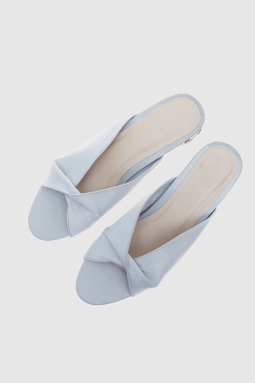 Kelly Shoes in Light Grey