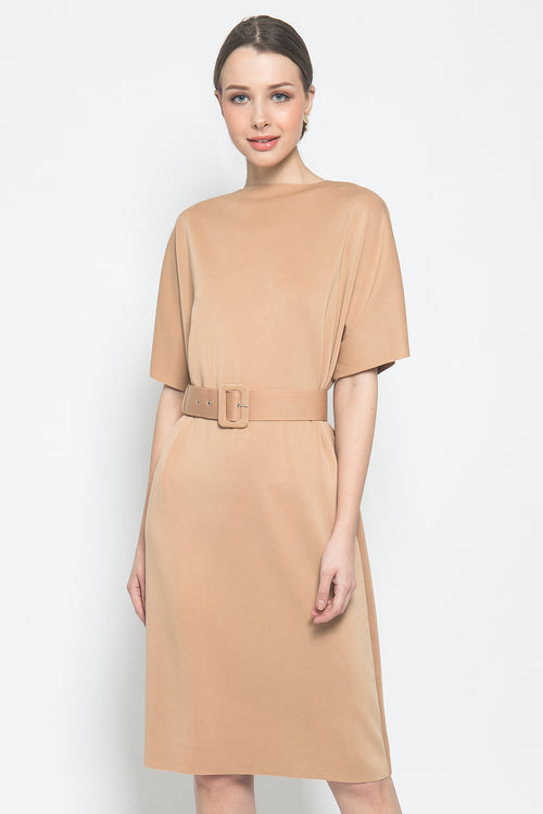 Eliza Dress in Nude