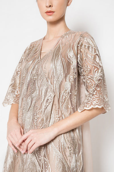 Lulla Dress in Champagne