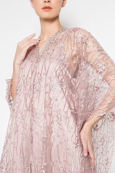 New Serra Dress in Mauvy Pink