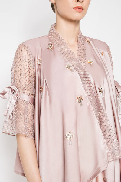 Zarra Top in Mauvy Pink