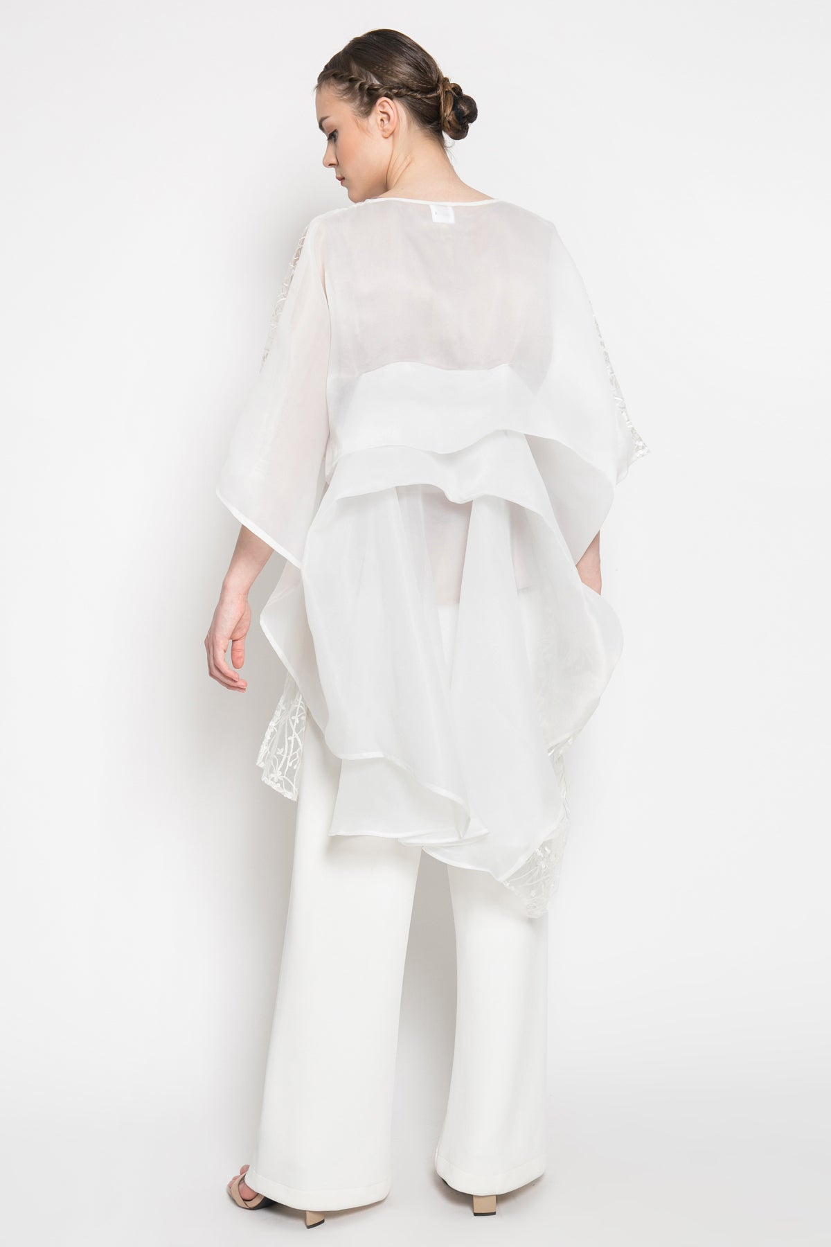 Gale Top in White