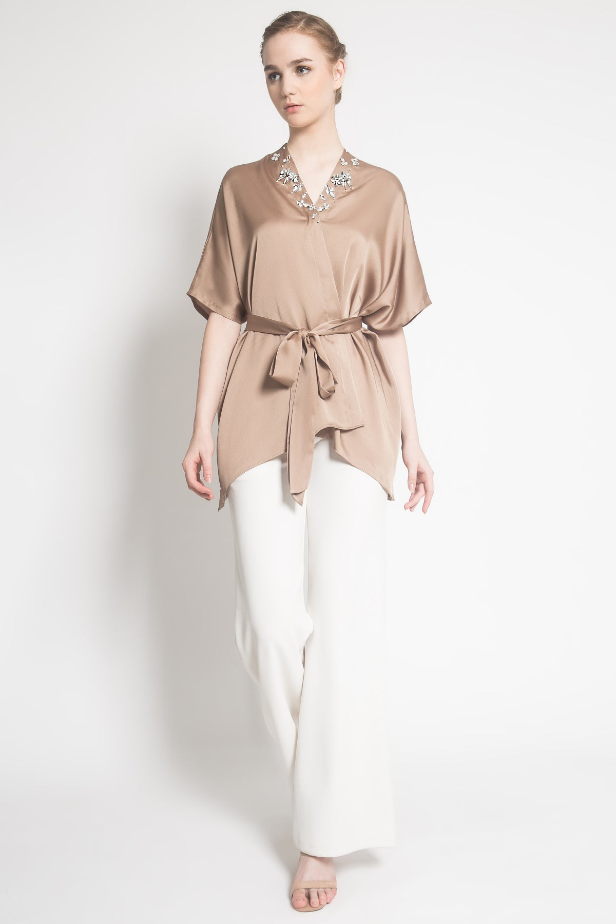 New Kalla Outer in Brown
