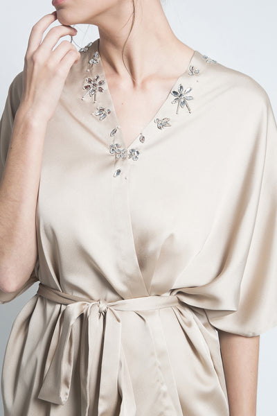 Embara Kalla Outer in Champagne